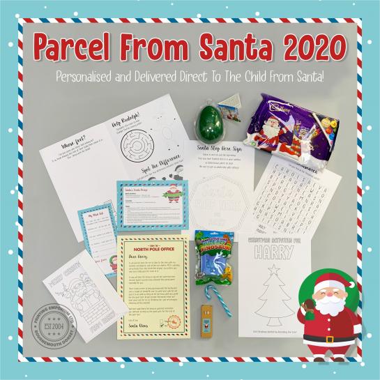 Personalised Parcel From Santa