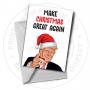 Donal Trump Greetings Card