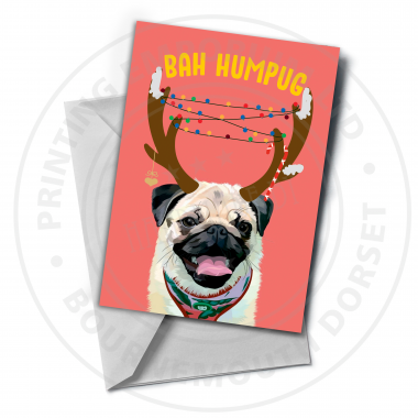 Bah Humpug Greetings Card