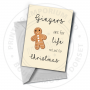 Gingers Are For Life Greetings Card