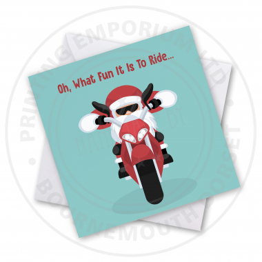 'On What Fun It Is' Greetings Card