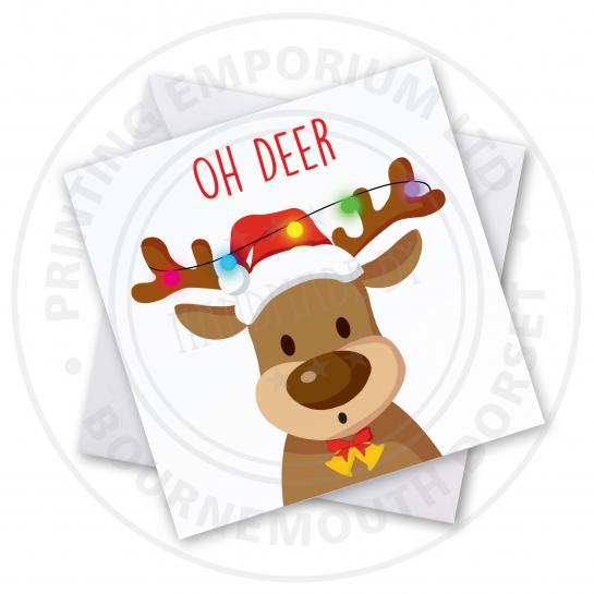 Oh Deer Greetings Card