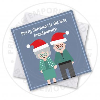 Best Grandparents Greetings Card