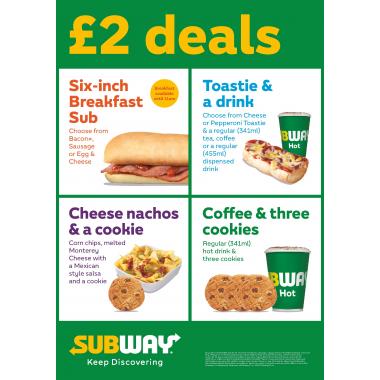 £2 Deals Poster